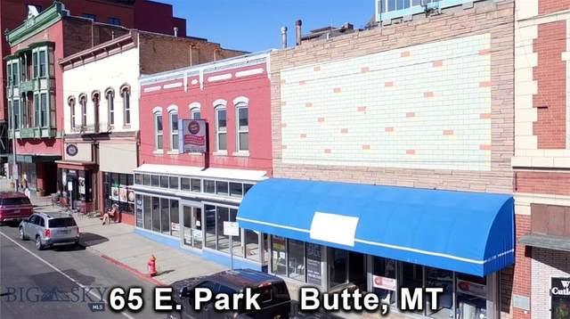 65 E Park Street, Butte, MT 59701 (MLS #350509) :: Montana Life Real Estate