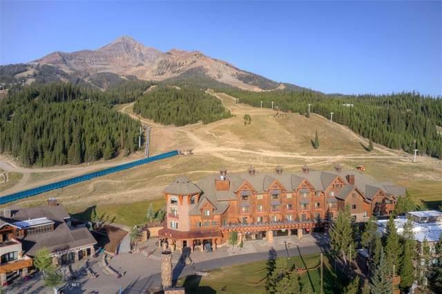 48 Big Sky Resort Road 407/477, Big Sky, MT 59716 (MLS #361852) :: Montana Mountain Home, LLC