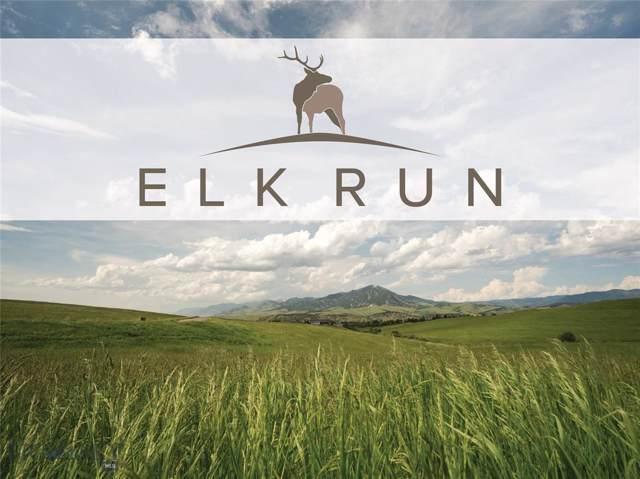 Tract 9 Elk Run, Bozeman, MT 59715 (MLS #300095) :: Hart Real Estate Solutions