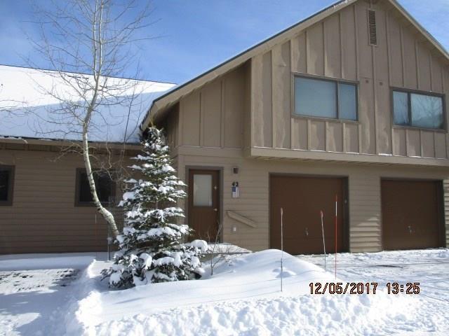 12 Running Bear Road #42, Big Sky, MT 59716 (MLS #312145) :: Black Diamond Montana