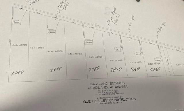 2780 County Road 134 E, Headland, AL 36345 (MLS #470951) :: Team Linda Simmons Real Estate