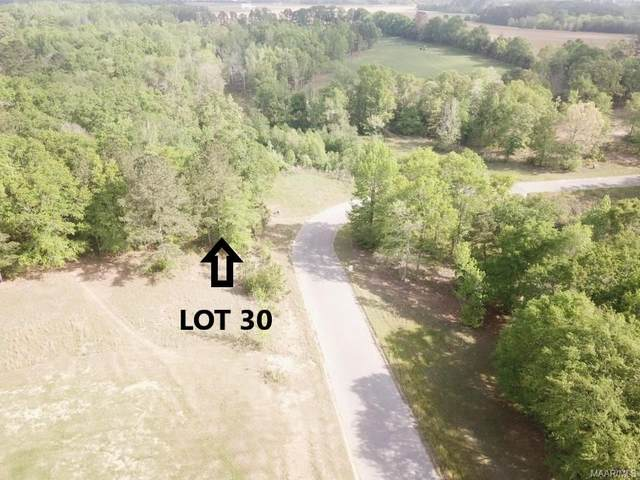 Lot 30 Ridge Road, Headland, AL 36345 (MLS #470976) :: LocAL Realty