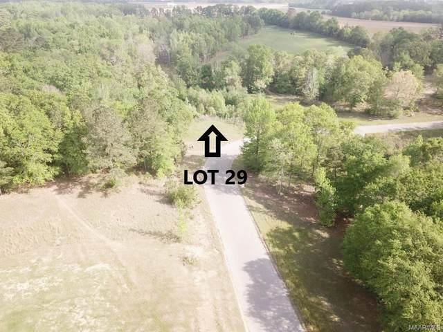 Lot 29 Ridge Road, Headland, AL 36345 (MLS #470978) :: LocAL Realty