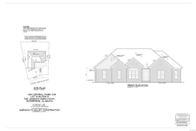 304 Central Park Circle, Enterprise, AL 36330 (MLS #486569) :: Team Linda Simmons Real Estate