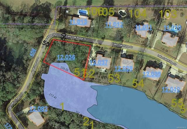 Lot 51 Lake Oak Ridge Drive, Enterprise, AL 36330 (MLS #496931) :: Team Linda Simmons Real Estate