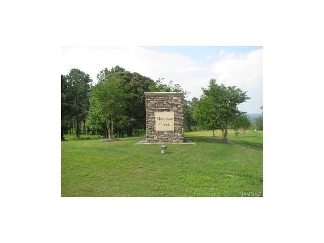 2540 Mountain Creek Drive, Deatsville, AL 36022 (MLS #314062) :: Buck Realty