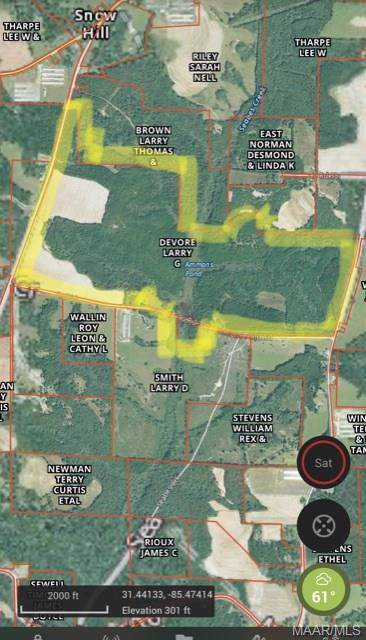 0 County Road 61 Road, Midland City, AL 36350 (MLS #465003) :: Team Linda Simmons Real Estate