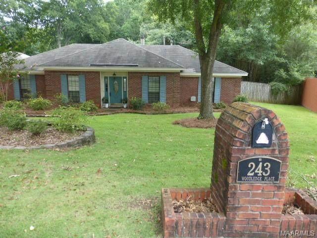 243 Woodledge Place, Montgomery, AL 36109 (MLS #478774) :: Buck Realty
