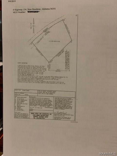 0 Highway 134 Highway, New Brockton, AL 36351 (MLS #460881) :: Team Linda Simmons Real Estate