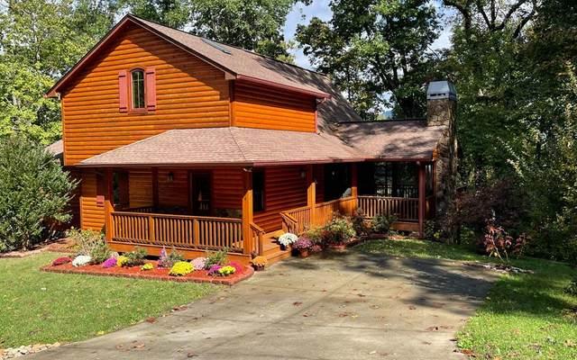654 Rivendell Drive, HIAWASSEE, GA 30546 (MLS #139218) :: Old Town Brokers