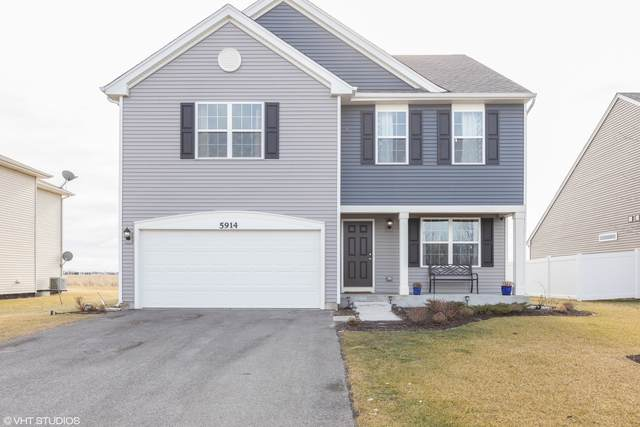 5914 Winterhaven Drive, Joliet, IL 60431 (MLS #10622626) :: John Lyons Real Estate