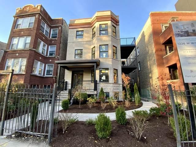 1226 W Winnemac Avenue 3S, Chicago, IL 60640 (MLS #10769204) :: The Wexler Group at Keller Williams Preferred Realty