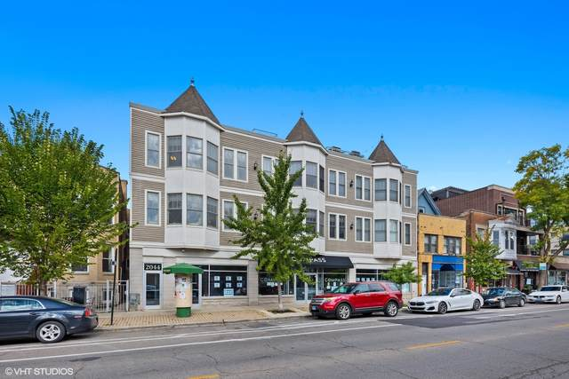 2044 W Roscoe Street 3S, Chicago, IL 60618 (MLS #10888235) :: The Wexler Group at Keller Williams Preferred Realty