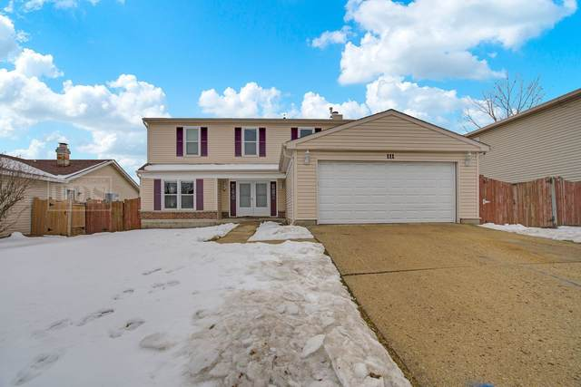 111 Hesterman Drive, Glendale Heights, IL 60139 (MLS #10927018) :: Jacqui Miller Homes