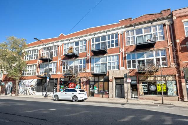 1907 N Milwaukee Avenue #307, Chicago, IL 60647 (MLS #10929236) :: Property Consultants Realty