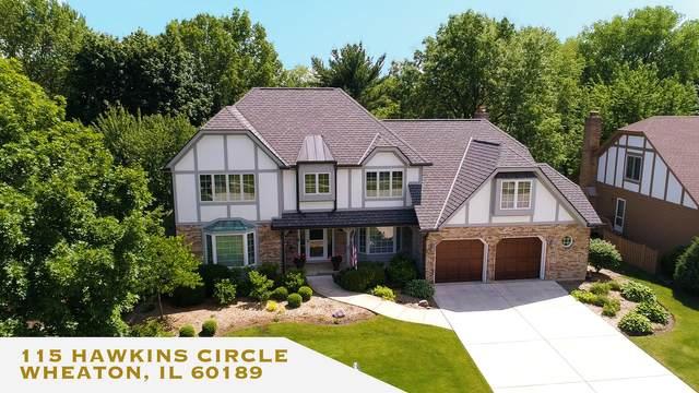 115 Hawkins Circle, Wheaton, IL 60189 (MLS #10934564) :: Lewke Partners