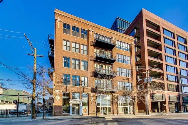 215 N Aberdeen Street 408A, Chicago, IL 60607 (MLS #10936355) :: The Wexler Group at Keller Williams Preferred Realty