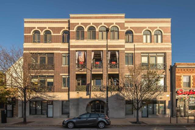 4343 N Western Avenue #302, Chicago, IL 60618 (MLS #10937118) :: Lewke Partners