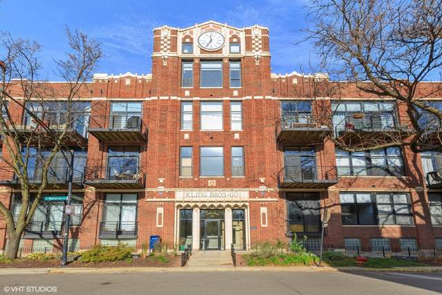 2300 W Wabansia Avenue #124, Chicago, IL 60647 (MLS #10937191) :: Property Consultants Realty