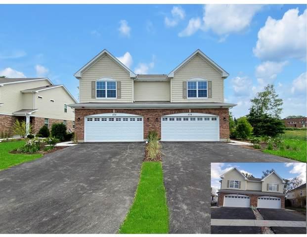 519 Bobby Ann Court #519, Roselle, IL 60172 (MLS #10937538) :: Helen Oliveri Real Estate