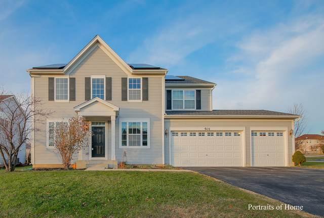 501 Leesburg Street, Oswego, IL 60543 (MLS #10937922) :: Helen Oliveri Real Estate