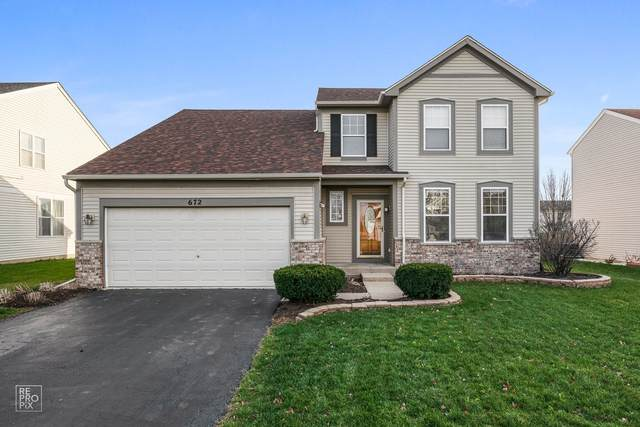 672 Stewart Avenue, North Aurora, IL 60542 (MLS #10938073) :: BN Homes Group