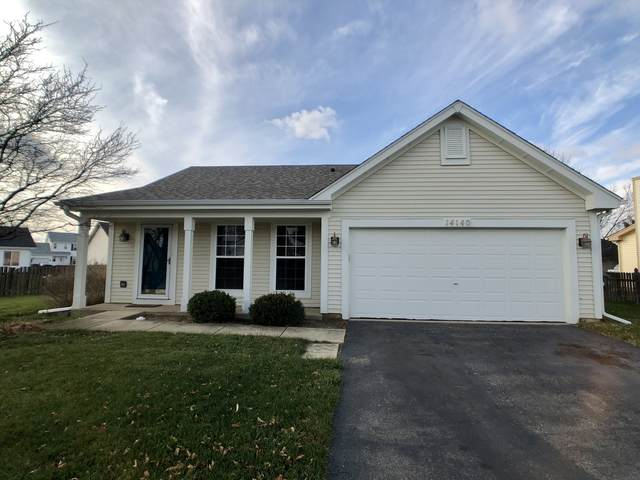 14140 S Manassas Lane, Plainfield, IL 60544 (MLS #10940320) :: The Wexler Group at Keller Williams Preferred Realty