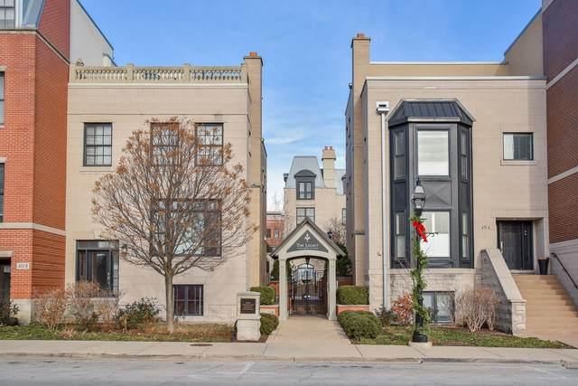 464 Pennsylvania Avenue B, Glen Ellyn, IL 60137 (MLS #10940339) :: Helen Oliveri Real Estate
