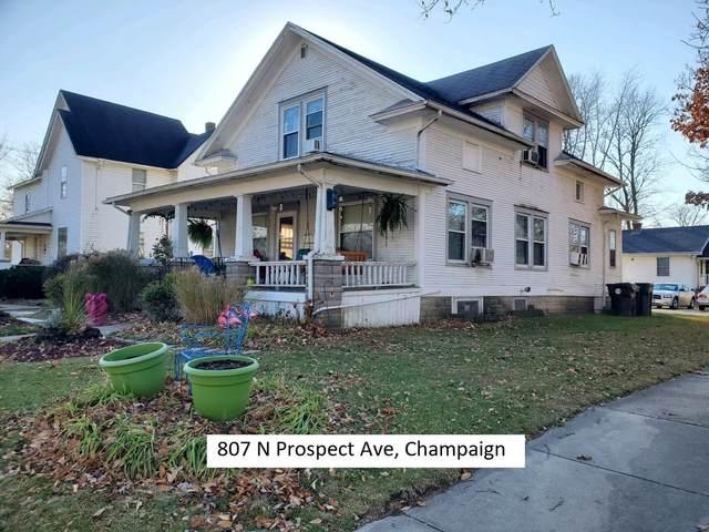 807 N Prospect Avenue, Champaign, IL 61820 (MLS #10941977) :: John Lyons Real Estate