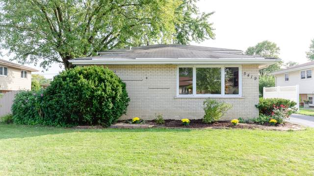 5419 128th Place, Crestwood, IL 60418 (MLS #10942147) :: The Spaniak Team