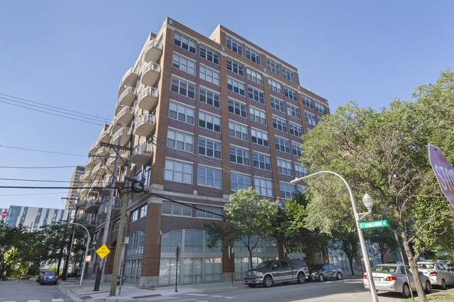 933 W Van Buren Street #819, Chicago, IL 60607 (MLS #10943895) :: Angela Walker Homes Real Estate Group