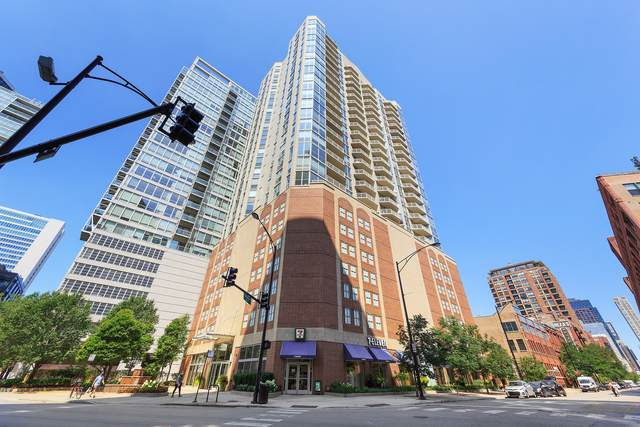 645 N Kingsbury Street #1901, Chicago, IL 60654 (MLS #10945216) :: The Perotti Group