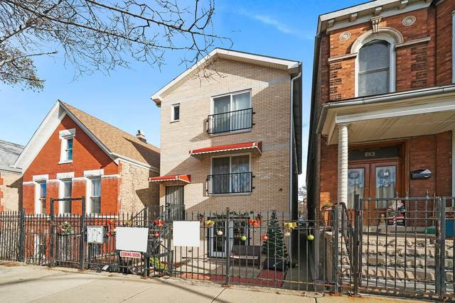 2111 S Fairfield Avenue #3, Chicago, IL 60608 (MLS #10946126) :: The Wexler Group at Keller Williams Preferred Realty
