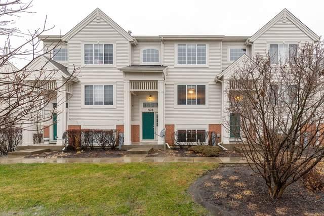 576 S Rosehall Lane #576, Round Lake, IL 60073 (MLS #10946256) :: Jacqui Miller Homes