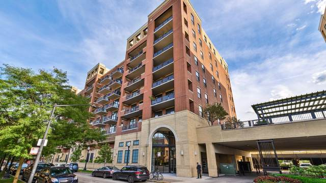 811 W 15TH Place #908, Chicago, IL 60608 (MLS #10946716) :: The Wexler Group at Keller Williams Preferred Realty