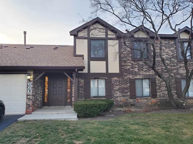 660 Cross Creek Drive B1, Roselle, IL 60172 (MLS #10951806) :: Schoon Family Group
