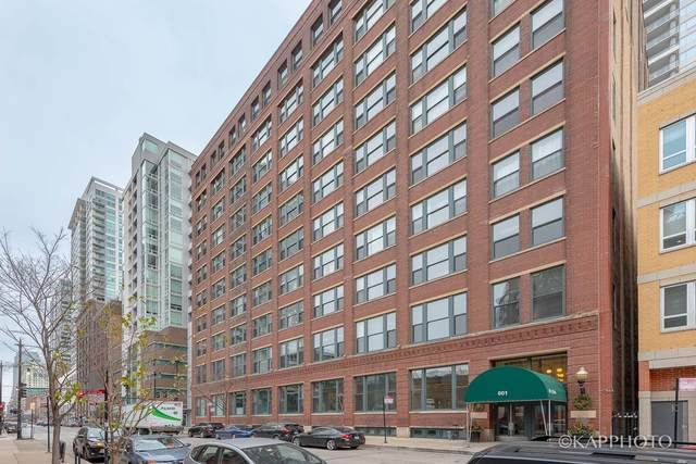 801 S Wells Street #508, Chicago, IL 60607 (MLS #10952158) :: The Wexler Group at Keller Williams Preferred Realty