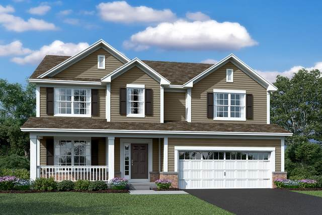 12333 S Prairie Ridge Lot #111 Lane, Plainfield, IL 60585 (MLS #10953766) :: Janet Jurich