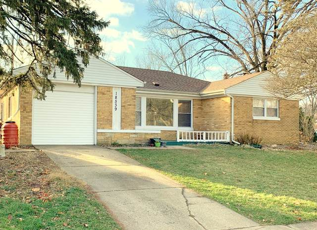 18539 Stedhall Road, Homewood, IL 60430 (MLS #10954986) :: The Wexler Group at Keller Williams Preferred Realty