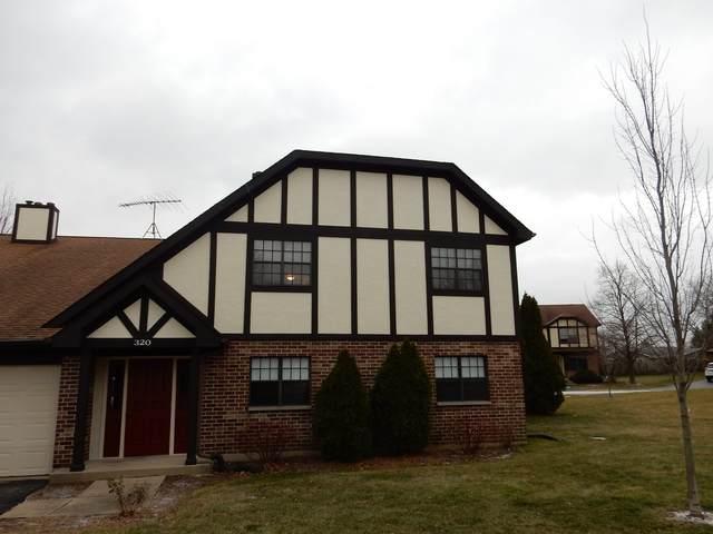 320 Deer Glen Way B, Bloomingdale, IL 60108 (MLS #10956951) :: The Wexler Group at Keller Williams Preferred Realty