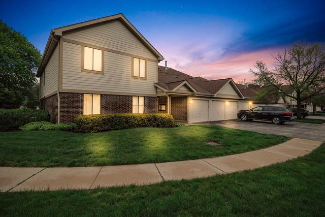 822 E Kings Row Circle #3, Palatine, IL 60074 (MLS #10957155) :: The Spaniak Team