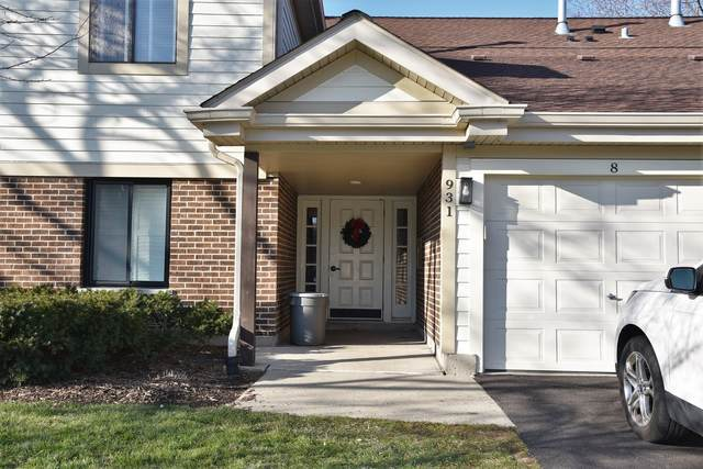 931 Kings Row #8, Palatine, IL 60074 (MLS #10958463) :: RE/MAX IMPACT