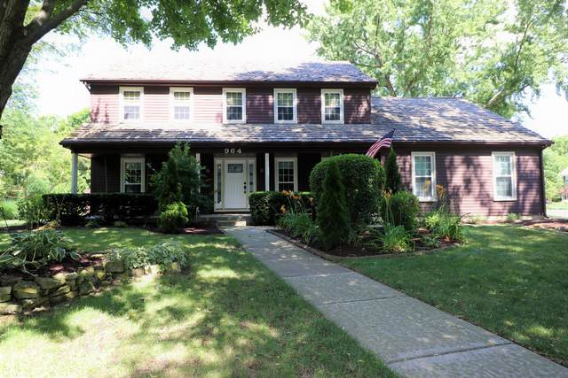 964 Savannah Circle, Naperville, IL 60540 (MLS #10958708) :: Janet Jurich