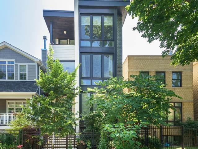 3339 N Leavitt Street, Chicago, IL 60618 (MLS #10962573) :: Helen Oliveri Real Estate
