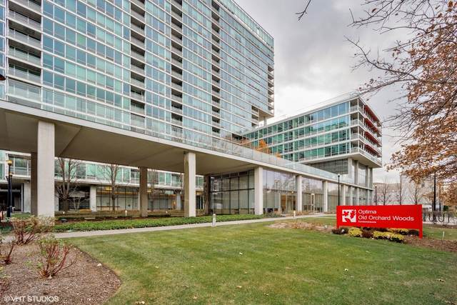 9655 Woods Drive #814, Skokie, IL 60077 (MLS #10962784) :: The Spaniak Team