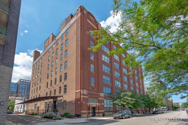 14 N Peoria Street 6G, Chicago, IL 60607 (MLS #10964682) :: The Spaniak Team