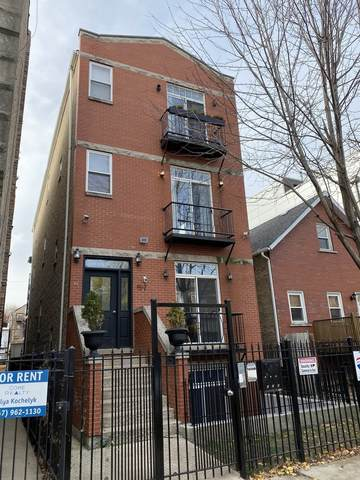 1512 N Campbell Avenue #1, Chicago, IL 60622 (MLS #10966252) :: The Perotti Group