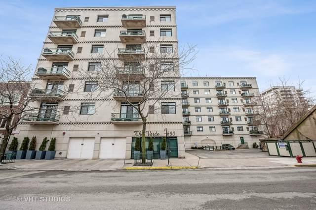 680 N Green Street #708, Chicago, IL 60642 (MLS #10966272) :: Littlefield Group