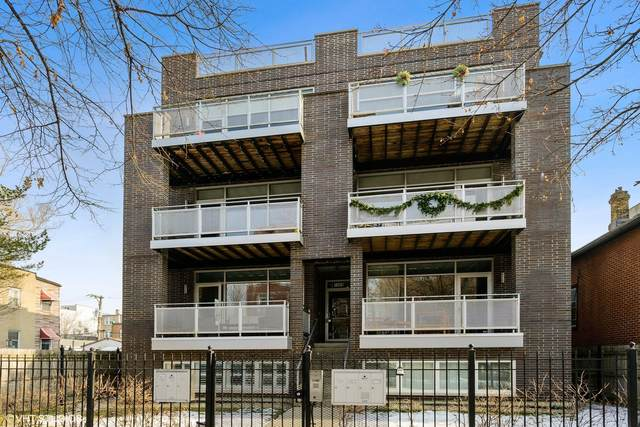 1509 N Campbell Avenue 1N, Chicago, IL 60622 (MLS #10966670) :: The Perotti Group