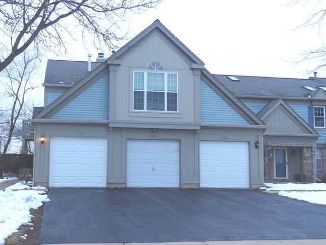 450 Bridle Trail #450, Wheeling, IL 60090 (MLS #10967459) :: Helen Oliveri Real Estate